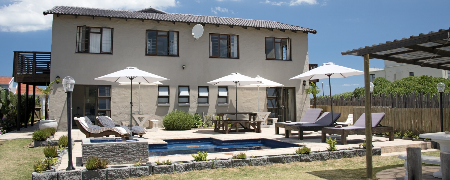 Afrovibe Beach Lodge pool, an area to relax and revive